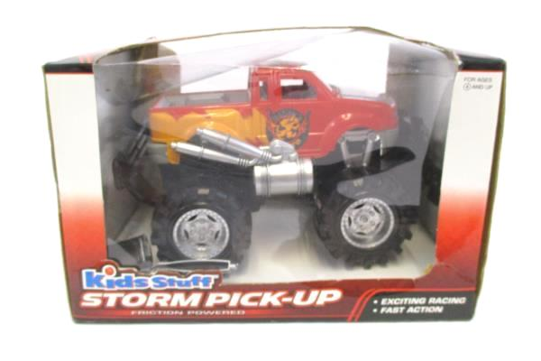 Lot of 2 Kids Stuff Storm Pick-UP & Max Pick-Up Friction Powered Trucks NIB
