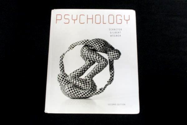 Psychology 2nd Edition Textbook Schacter Gilbert Wegner Worth USED