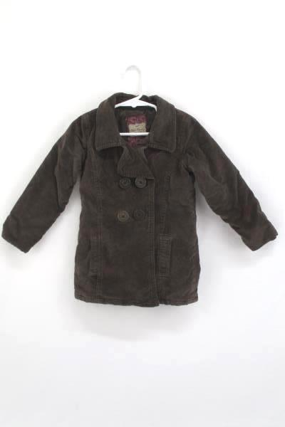 official price hot-seeling original big discount sale Old Navy Toddler Girls Peacoat Double Breasted Lined Coat Brown Size 3T