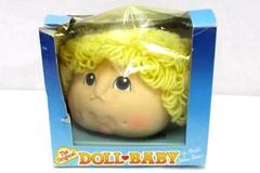 The Original Doll Baby Martha Nelson Thomas 3110 Curly Hair Baby Head Blonde NIB