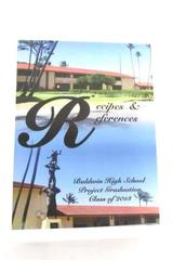 Baldwin High School Recipes & References Class of 2013 Graduation Project Book