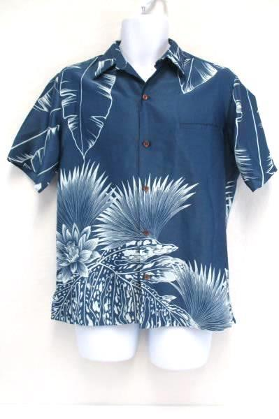 Lot of 2 Tori Richard Blue Hawaiian Island Shores Gray Plaid Button Down Men's S