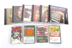 Lot of 10 Mixed Artist CDs Cassettes Americana Folk Dixieland Ragtime Sealed