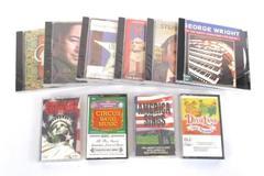 Lot of 10 Mixed Artist CDs Cassettes Americana Folk Dixieland Ragtime Sealed