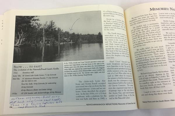 Newichawannok Reflections Memories Of Great East Lake 2nd Edition Book Paperback