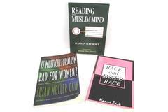 Multi Culture Mixed Lot of 3 Books Naomi Zack, Hassan Hathout, Susan Moller Okin