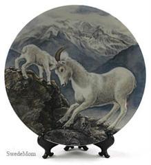 GENTLE PERSUASION  Mountain Goat Plate Yin-Rei Hicks