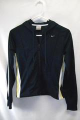 Boys Nike Jacket Double Zipper Blue White And Yellow Size XS Mesh