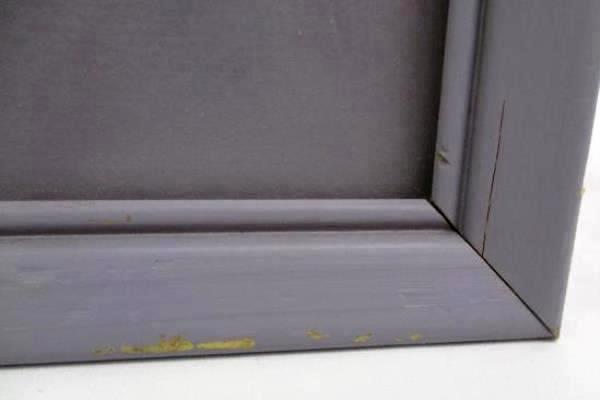 "Framed Portal Publication Lithograph Copyright 1995 Wooden Frame 15.5"""