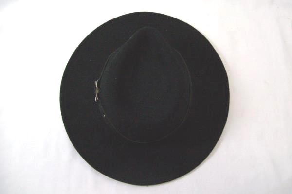 Black Creek Cowboy Hat Size Large 100% Wool Crushable Water Resistant