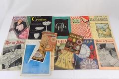 Large Assortment Of Needlework Pattern Books and More