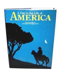 A DAY IN THE LIFE OF AMERICA in Photos History Large Coffee Table Book HC 1986