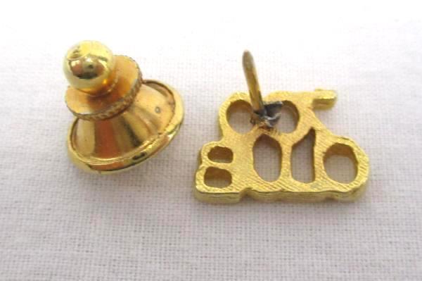 700 Club Pin Gold Tone Hat Lapel