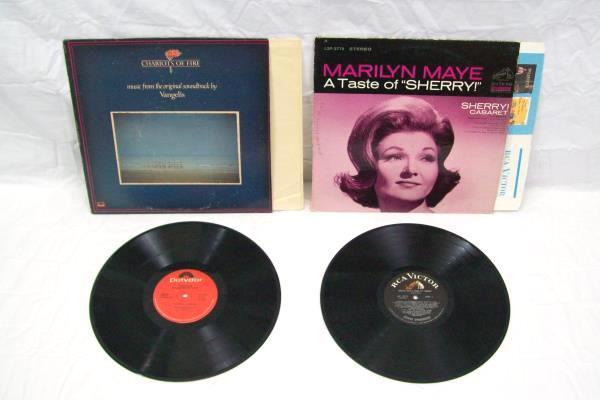 Lot Of 6 Stage & Screen Vinyl Records ~ Some Are Evita A Taste Of Sherry