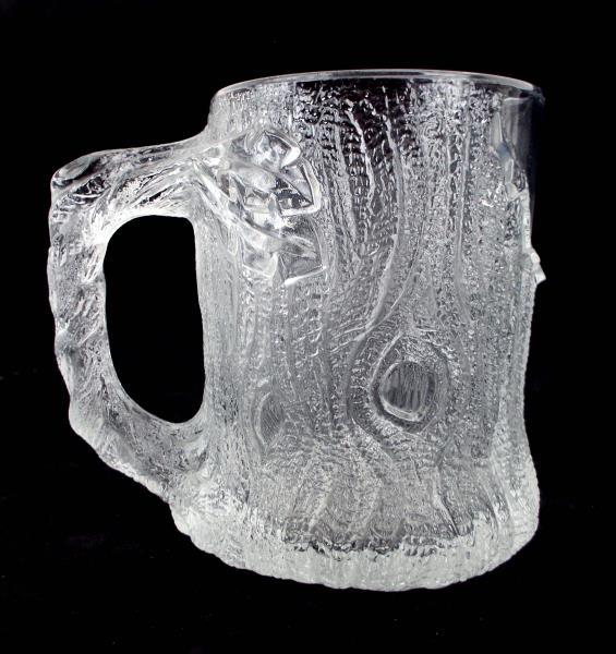 McDonalds THE FLINSTONES Frosted Glass TreeMendous Mug 1993 RocDonalds