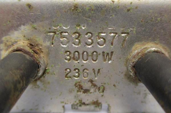 Electric Range Element 236 Volts 3000 Watts Model 753577
