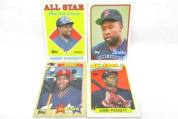 Lot Of 11 Kirby Puckett Trading Cards No Dupes 5 All Star Cards Topps Upper Deck