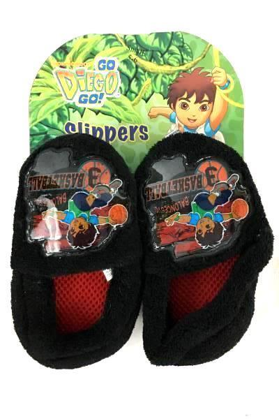 "Lot of 2 Children's Slippers Size 5/6 & 7/8 ""Go Diego Go"" & ""Olaf"" Winter"