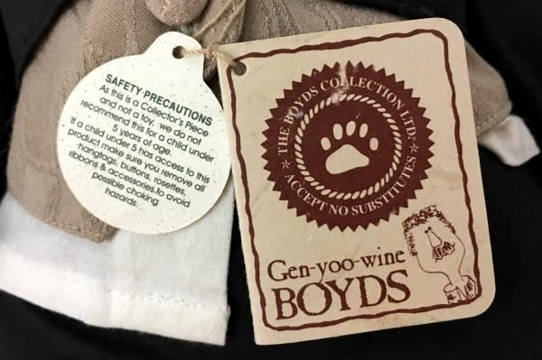 """Gen Yoo Wine Boyds T.J. Bear 'Best Dressed' Edition """"Bares and Hares"""""""