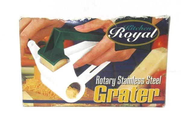 Kitchen Royal Rotary Stanless Steel Grater Original Box