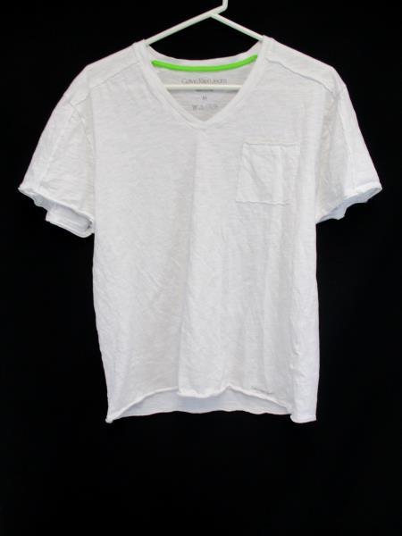 Layered Shirt Set Calvin Klein Tee And Eighty Eight Platinum Button Up Sz M