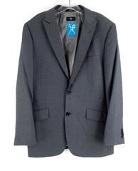 "MARK ECKO Gray ""Multi Task"" Blazer Suit 2 Button Jacket Cut and Sew Men's 40 R"