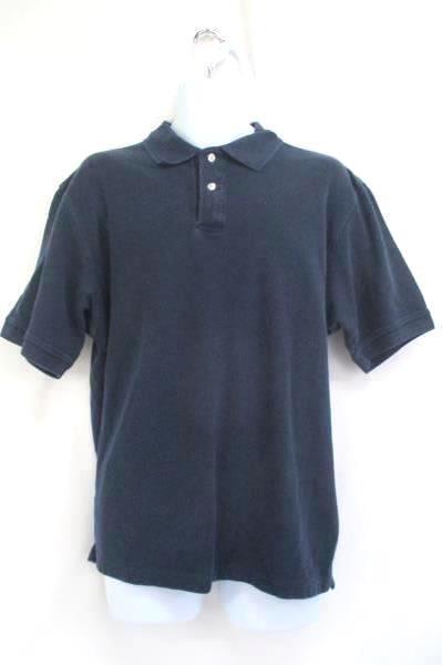 Lot of 2 Men's Polo Shirts Tops Tasso Elba John Ashford Navy Blue Size XL