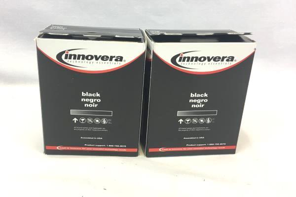 Lot Of 2 Innovera Black Ink Cartridge Epson T0481 - Black