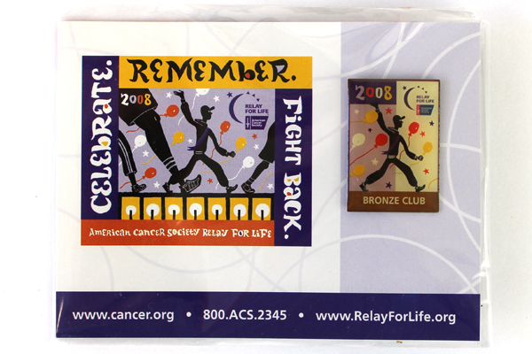 Relay For Life Bronze Club 2008 American Cancer Society Pin NIP