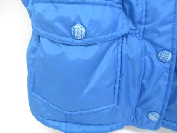 Weatherproof Girls Puffer Vest Zip Up Blue Size Large 14/16