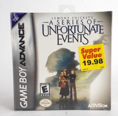 Nintendo GAME BOY ADVANCE Lemony Snicket's Series of Unfortunate Events 2001 NEW