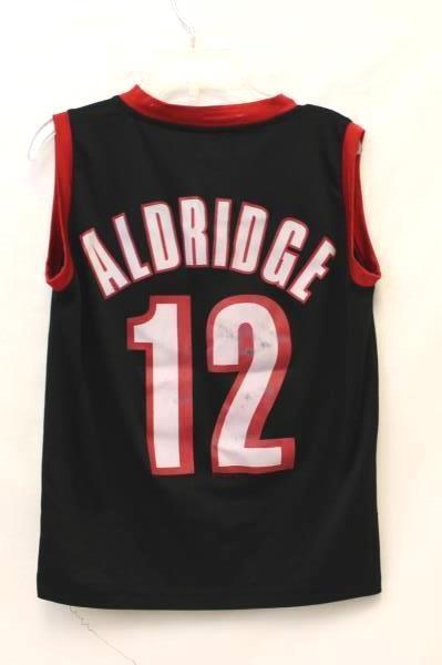 Majestic Aldridge #12 Blazer Jersey Kids M Basketball Jersey