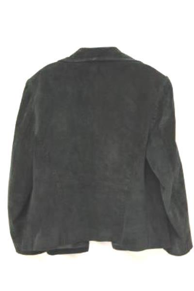 Stylish Women's Black Jacket by BERNARDO Leather Jacket Size PM