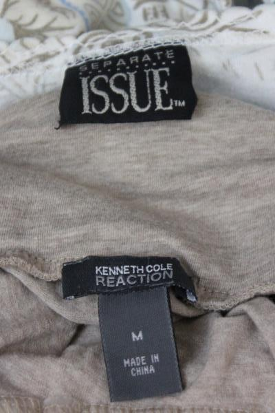 Lot Of 2 Shirts Separate Issue Kenneth Cole & Reaction Brown Size Medium