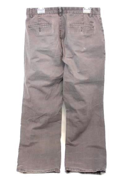 Men's Dockers Classic Fit Size 34x34 100% Cotton Brown Slacks