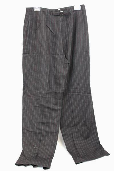 Liz Claiborne Women's Black Red White Striped Dress Pants Size 10