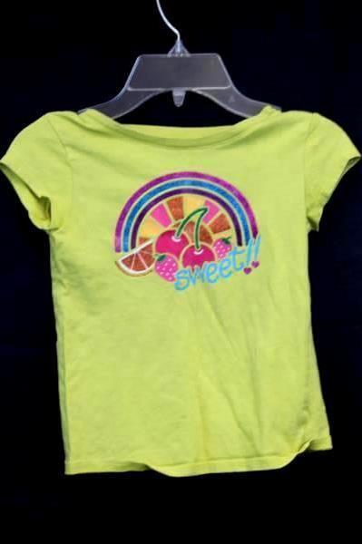 Lot of 3 T-Shirts & Shorts Yellow & Green By Gymboree Steve Circo Kids Size 6