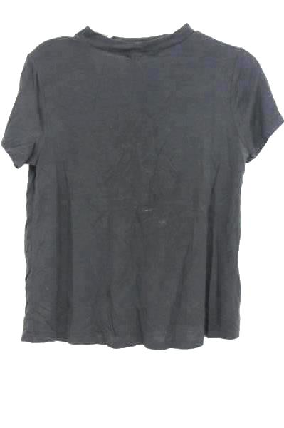 Ten Sixty Sherman Girls Black T-Shirt Kids Girls Size Large