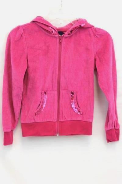 Lot of 2 Girls Jacket And Yoga Pants Pink & Gray By Circo Basic Editions Size S