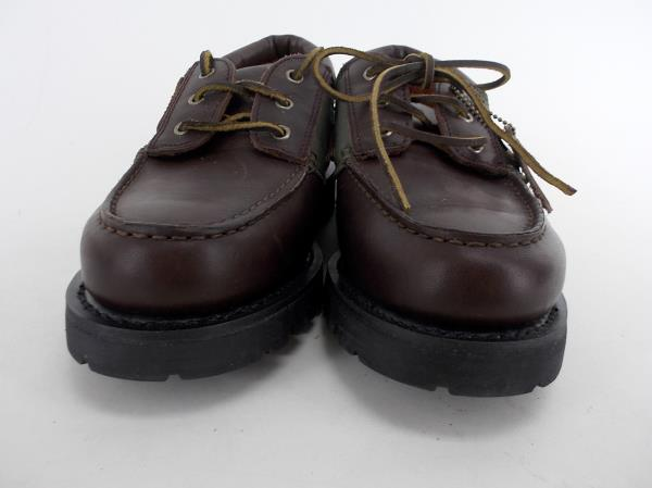 """RAYBESTOS Men's Work Boat Shoes Thick Tread Leather """"Moondance"""" Sz 10 #RPP2000"""