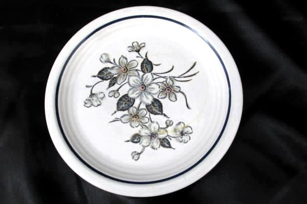 Country Charm Collection Floral Plate by Woodhill