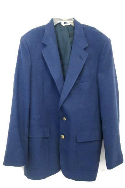 TJW And Exclusive Men's Suit Jacket And Tie Blue White Size 42