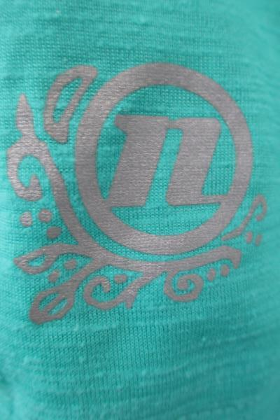 Women's Cycling Tank Top Teal Blue Size Medium w/ Pocket and Zippers