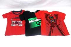 Lot of 3 Little Boys Summer T-Shirts 18 Months