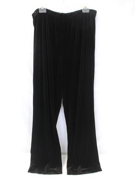 R&M Richards Women's Sweatpants Velvet Brown Size 18W