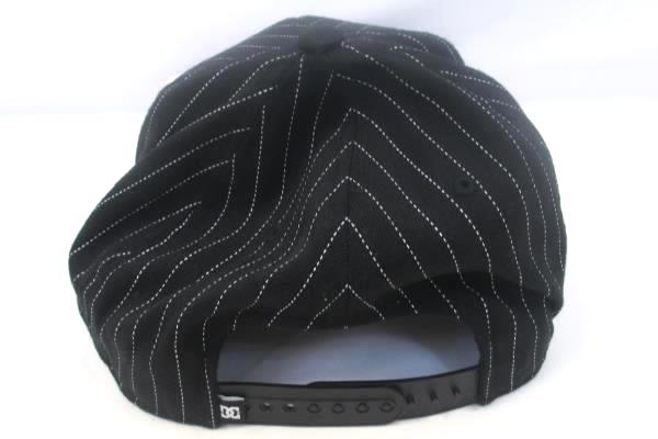 DC Flex Fit Snap Back By Yupoong Red & Black w/ White Stripes One Size Fits Most