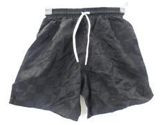Club Level Youth Unisex Athletic Shorts Black w/ Draw String Size Small