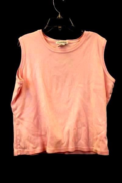 Claudia D. T-Shirt Tank Top Pink Women's Size Extra Large XL