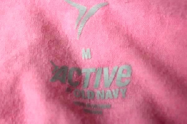 Old Navy Athletic Shirt Active Pink Women's Size Medium