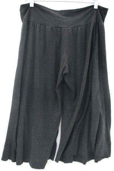 Hot Tempered Women's Bell Bottoms Black Wide Bottoms Size XXL